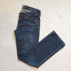 7 For All Mankind Straight Leg Jeans, Size 26